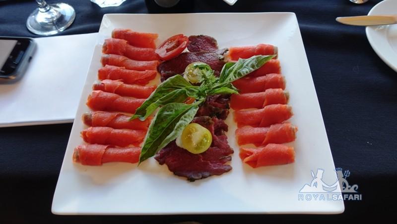 Лоджи в Канаде: обед