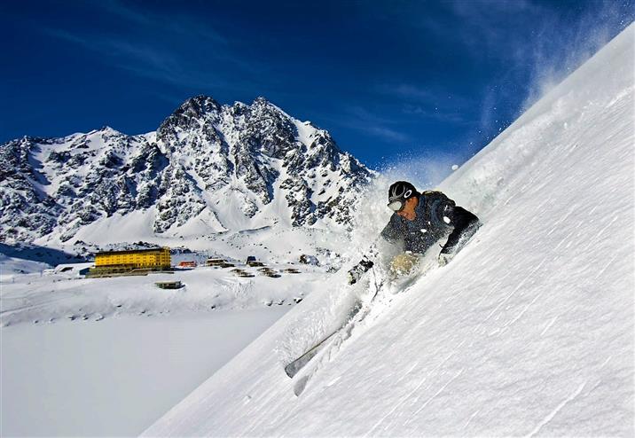 горные лыжи в Чили