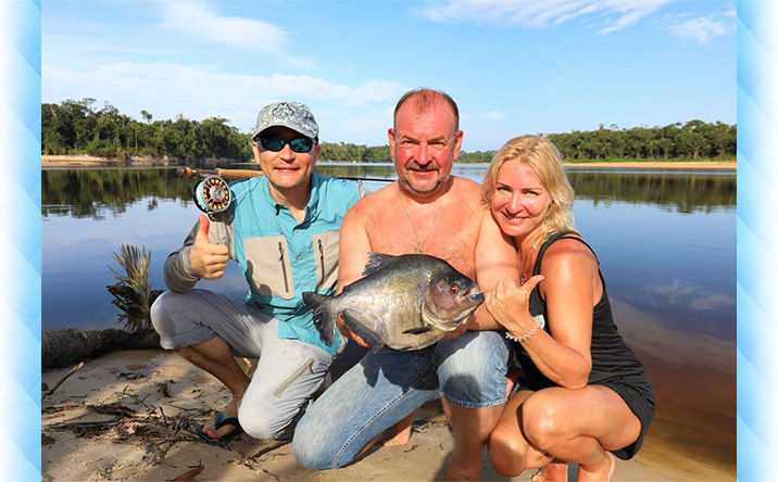 BRAZIL FISHING REPORT FEBRUARY 1-8, 2018