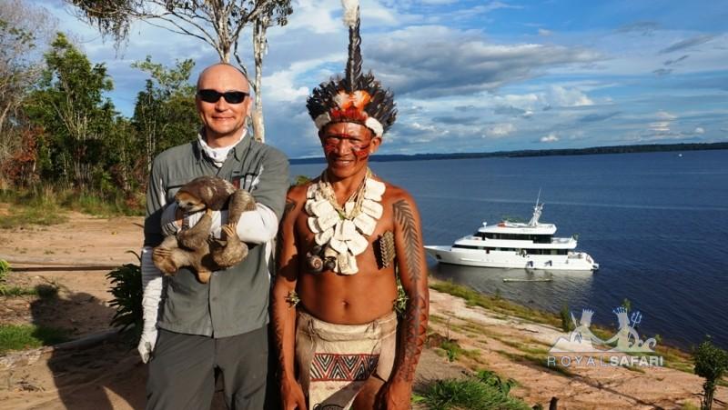 в Амазонии